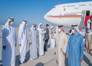 زيارة خاصة.. ملك البحرين يصل إلى الإمارات وسط توتر مع قطر (فيديو)