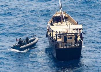 البحرية الأمريكية تضبط شحنات أسلحة قرب سواحل الصومال