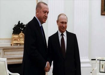 أردوغان يؤكد لبوتين أهمية تسوية أزمة سوريا وعدم إضاعة فرصة السلام بليبيا