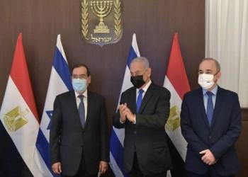استقبله نتنياهو.. تفاصيل زيارة وزير البترول المصري إلى إسرائيل