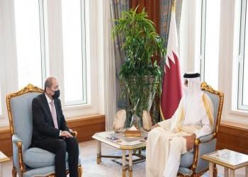 أمير قطر يبحث تطوير العلاقات الثنائية مع وزير الخارجية الأردني