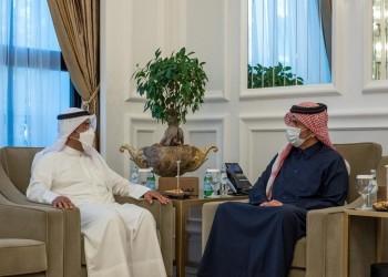الحجرف يبحث في قطر دعم مسيرة العمل الخليجي المشترك