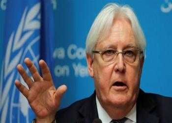 جريفيث يبحث بالرياض وقف إطلاق النار في اليمن