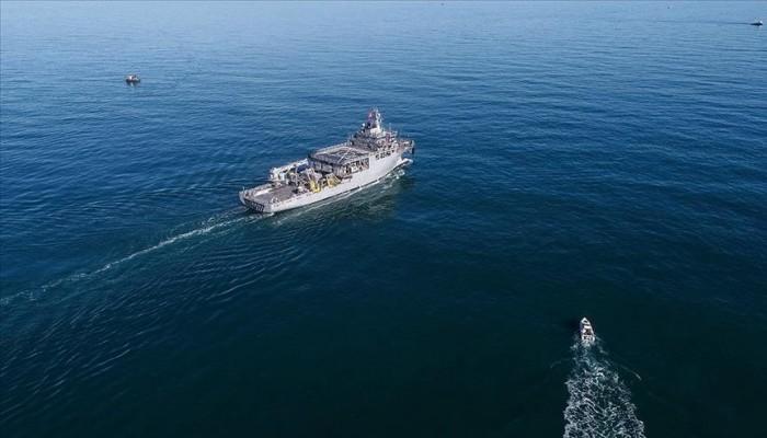 مقاتلات يونانية تتحرش بسفينة أبحاث تركية في مياه بحر إيجة