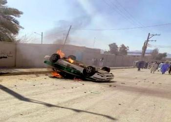 سراوان الإيرانية.. احتجاجات غاضبة لمقتل 10 بلوش برصاص الحرس الثوري