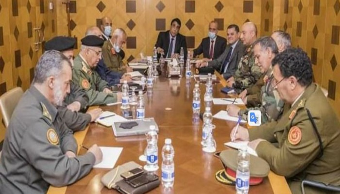 ليبيا.. المنفي ودبيبة يبحثان مع قيادات عسكرية بالمنطقة الغربية توحيد الجيش