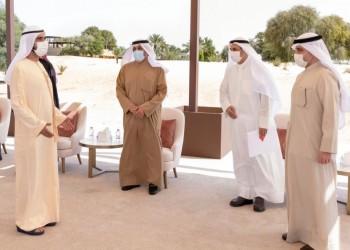 رسالة من أمير الكويت للإمارات لبحث التعاون الخليجي