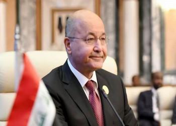الرئيس العراقي: نحن والأمريكيون لا نريد وجودا دائما للقوات الأجنبية