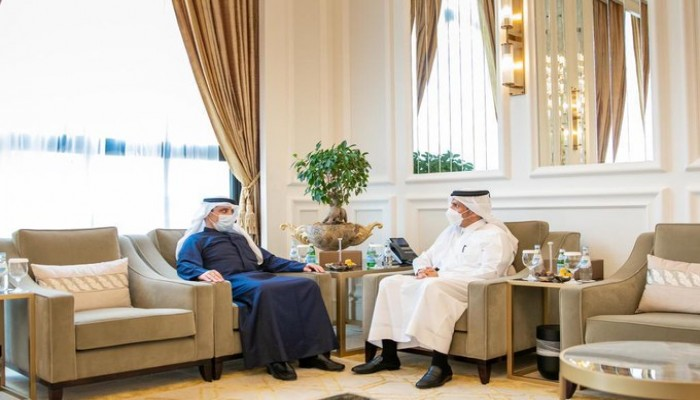 وزيرا خارجية قطر والكويت يبحثان العلاقات الثنائية بين البلدين