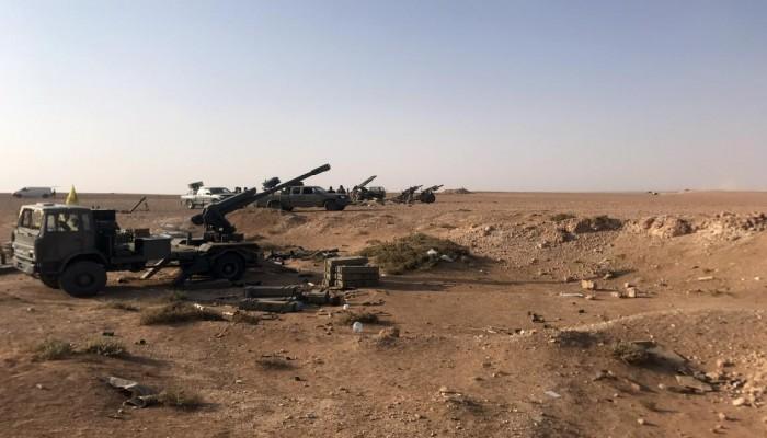 أمريكا توجه ضربة جوية في سوريا استهدفت فصيلا مواليا لإيران
