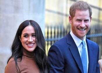 أول ظهور لهاري وميجان منذ إعلان الحمل الثاني والتجريد من الواجبات الملكية