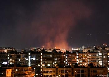 غارات إسرائيلية جديدة على دمشق.. والاحتلال يختطف شابا في القنيطرة (فيديو)