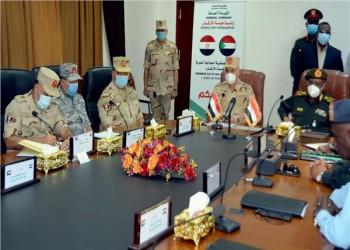 وفد عسكري مصري يزور السودان للمشاركة باجتماع رفيع المستوى