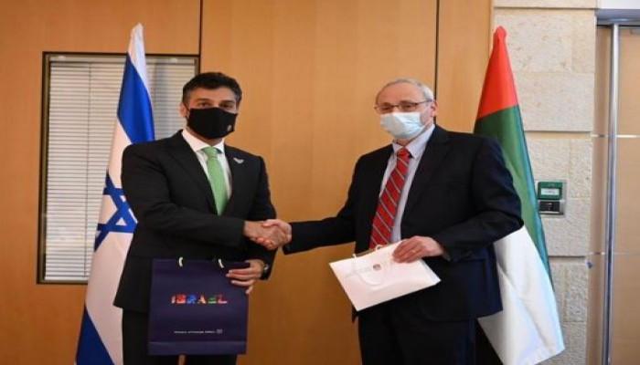أول نشاط دبلوماسي لسفير الإمارات في إسرائيل