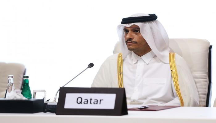 أرفع مسؤول منذ المصالحة.. وزير الخارجية القطري يصل إلى القاهرة