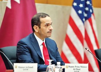 وزيرا خارجية قطر وأمريكا يبحثان هاتفيا أوضاع المنطقة والعلاقات الثنائية