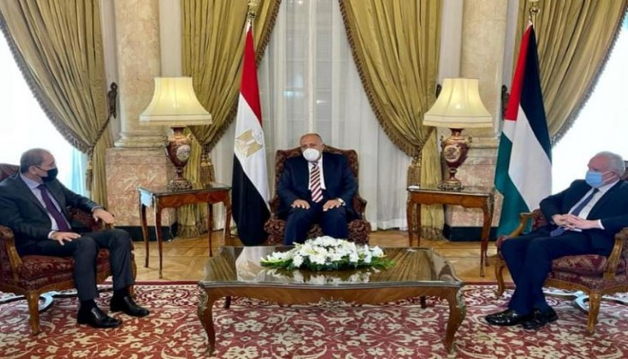 اتفاق مصري أردني فلسطيني على ضرورة إنهاء جمود عملية السلام