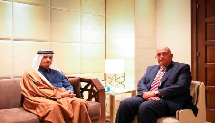 بعد لقاء وزيري خارجية البلدين.. قطر تسعى لعودة العلاقات مع مصر