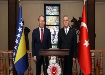 تركيا والبوسنة توقعان اتفاقية تعاون عسكري
