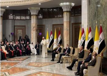 فلتصمت الأسلحة.. بابا الفاتيكان يدعو من العراق لتعزيز السلام في المنطقة