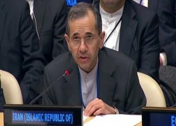 إيران تنفي أمام الأمم المتحدة مسؤوليتها عن تفجير السفينة الإسرائيلية