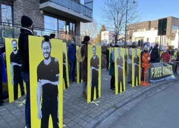 وقفة أمام سفارة مصر ببروكسل للإفراج عن باحث معتقل