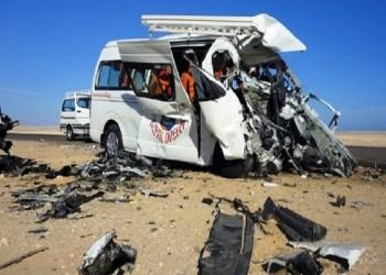 مصر.. ارتفاع عدد ضحايا حادث الكريمات إلى 20 منهم 10 من عائلة واحدة