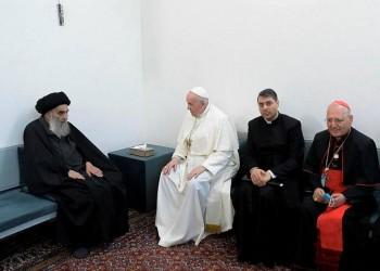 الصحف الإيرانية ترحب بلقاء فرانسيس والسيستاني في العراق