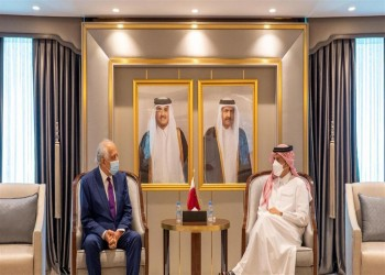 وزير خارجية قطر يلتقي المبعوث الأمريكي لأفغانستان