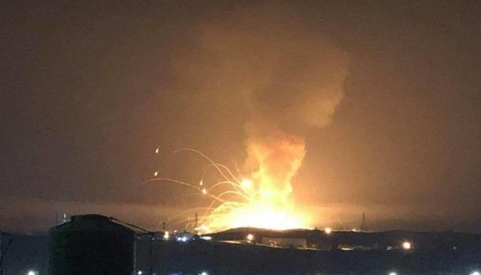 مصرع 8 وإصابة 170 بحريق غامض في مركز مهاجرين بصنعاء