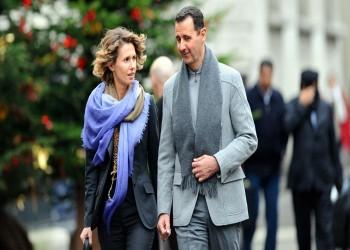 إصابة بشار الأسد وزوجته بكورونا