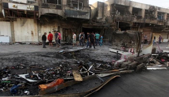 مقتل شخصين وإصابة 8 في انفجار شمالي بغداد