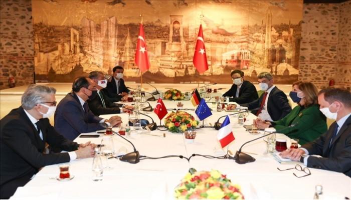 مباحثات بين تركيا والاتحاد الأوروبي في إسطنبول تمهيدا لقمة مرتقبة