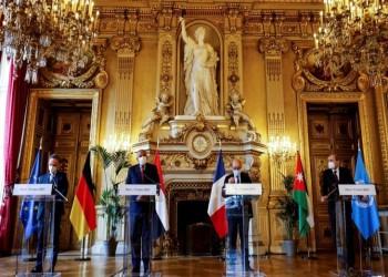 اتفاق فرنسي ألماني مصري أردني على دفع عملية السلام بالشرق الأوسط