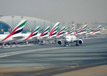 انخفاض المسافرين عبر مطار دبي 75% حتى فبراير