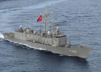 تدريب عسكري بين البحرية التركية والأمريكية في شرق المتوسط