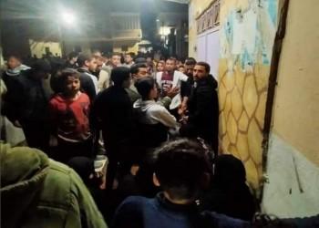 مظاهرات في مصر احتجاجا على مقتل شاب بيد ضابط شرطة (فيديو)