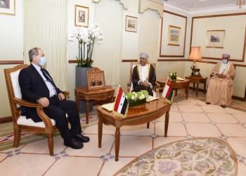 مسؤولون عمانيون يجرون مباحثات رسمية مع وزير خارجية الأسد