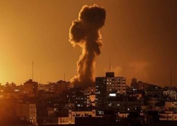 طائرات الاحتلال الإسرائيلي تشن غارات على قطاع غزة
