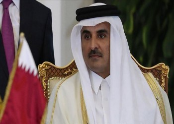 أمير قطر يرسل أول برقية للسيسي بعد المصالحة الخليجية
