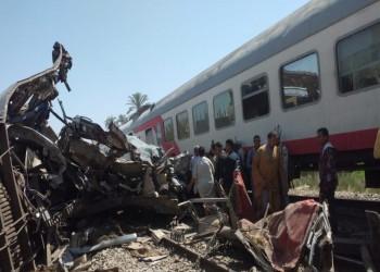 الصحة المصرية تعلن خفض حصيلة قتلى حادث القطارين وتبين السبب