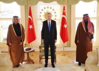 أردوغان يستقبل وزير الخارجية القطري في إسطنبول