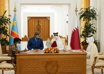 أمير قطر يستقبل رئيس الاتحاد الأفريقي ويشهدان توقيع اتفاقيات تعاون