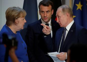 بوتين وميركل وماكرون يبحثون ملفات سوريا وليبيا ونافالني وكورونا