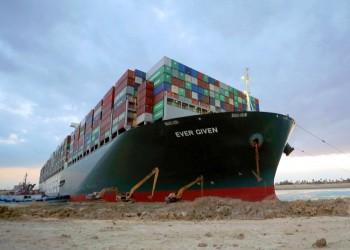 الشركة المالكة للسفينة الجانحة بقناة السويس تنفي تلقيها طلبا لدفع تعويضات