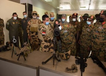 """بمشاركة قوات الصاعقة.. مصر والسودان ينفذان مناورة """"نسور النيل-2"""""""