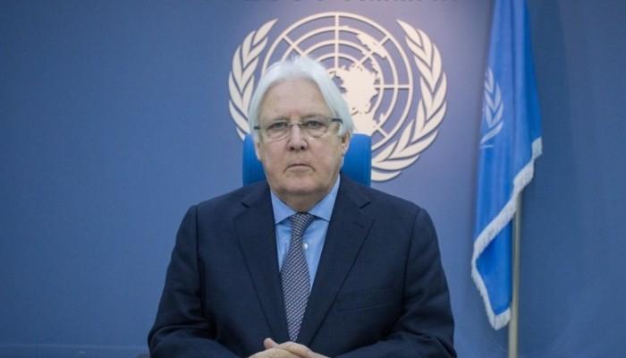 مارتن جريفيث: ممتن لسلطان عمان لدعم السلام في اليمن