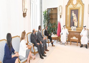 ضم نواب من الحزبين.. أمير قطر يبحث مع وفد بالكونجرس التعاون الاستراتيجي