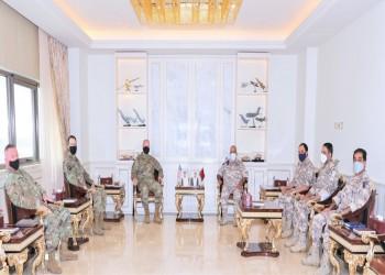 مباحثات عسكرية بين رئيس الأركان القطري ومسؤول أمريكي في الدوحة