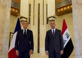ماكرون يبدي رغبة في توسيع تعاون باريس مع بغداد